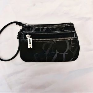 NEW YORK AND COMPANY BLACK LOGO WRISTLET